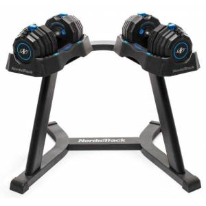 NordicTrack Adjustable Select-A-Weight Dumbbell Stand, steel