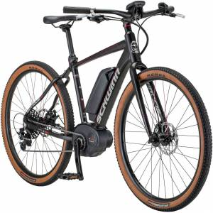 Schwinn Women's Vantage FXe Electric Bike, Medium, Black