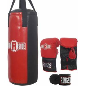 Ringside Youth 40 lbs. Heavybag Kit, Kids, Red