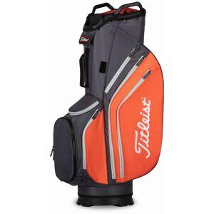 Titleist Men's 2020 Cart 14 Lightweight Cart Golf Bag, Graphite/Flame/Gray