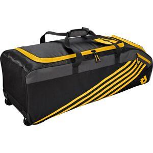 DeMarini Momentum 2.0 Wheeled Baseball Bag, Light Gold