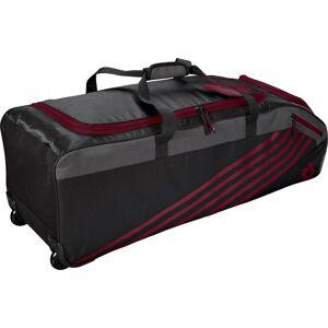 DeMarini Momentum 2.0 Wheeled Baseball Bag, Maroon