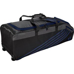DeMarini Momentum 2.0 Wheeled Baseball Bag, Blue