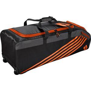 DeMarini Momentum 2.0 Wheeled Baseball Bag, Orange