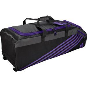 DeMarini Momentum 2.0 Wheeled Baseball Bag, Purple