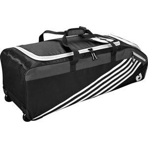 DeMarini Momentum 2.0 Wheeled Baseball Bag, Team White
