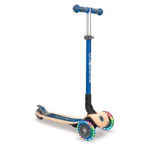 Globber Primo Foldable Wood Scooter, Kids, Navy Blue