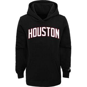 Jordan Youth Houston Rockets Black Statement Pullover Hoodie, Boys', Large
