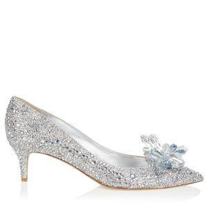 Jimmy Choo Allure  - Silver - Size: 35.5