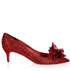 Jimmy Choo Allure  - Red - Size: 40.5