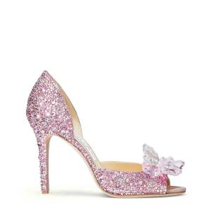 Jimmy Choo Anilla 100  - Rose Mix - Size: 38