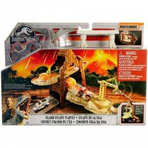 Jurassic Park Island Escape Playset -Brown