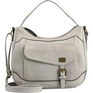 B.O.C. Amherst Contrast Stitched Crossbody Handbag -Grey