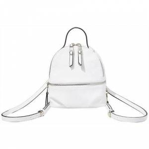 Steve Madden Jacki Backpack Handbag -White