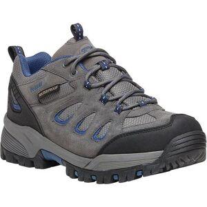 Propet USA Mens RidgeWalker Low Grey Shoes -Grey