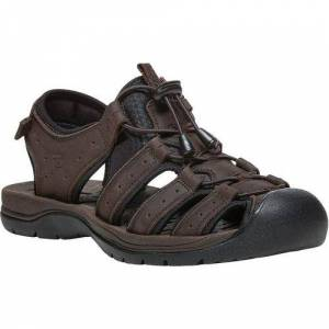 Propet USA Mens Kona Sandals -Brown