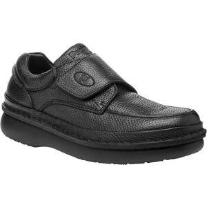 Propet USA Mens Scandia Strap Shoes -Black
