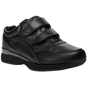 Propet Womens Tour Walker Strap Shoes -Black