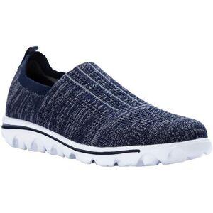Propet USA Womens TravelActiv Stretch Sneakers -Blue