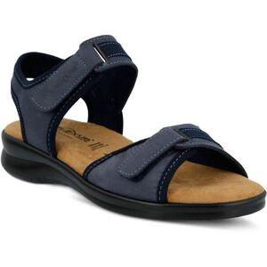 Spring Step Womens Danila Quarter Strap Sandals -Blue