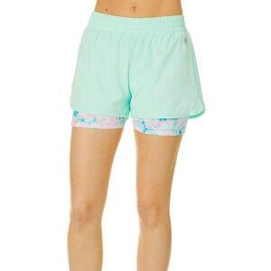 Reel Legends Juniors Beach Glass Stowaway Shorts -Green/Multi