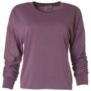 Jessica Simpson Womens Solid Pullover Sweater -Purple