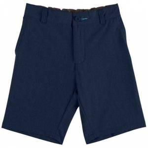 Reel Legends Little Boys Heather Hybrid Shorts -Blue