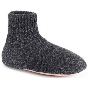 Muk Luks Mens Morty Slippers -Black
