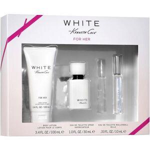 Kenneth Cole White Womens 3-pc. EDP Set -White