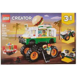Lego Creator Monster Burger Truck -Green/White