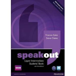 Speakout Upper Intermediate Students book and by Frances Eales