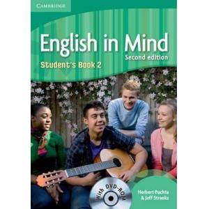 English in Mind Level 2 Student's Book with DVD-ROM by Herbert Puchta