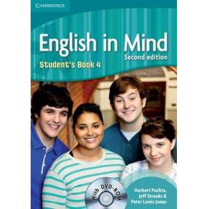 English in Mind Level 4 Student's Book with DVD-ROM by Herbert Puchta