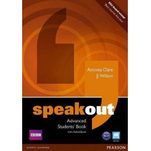 Speakout Advanced Students' Book and DVD/Active Book by JJ Wilson