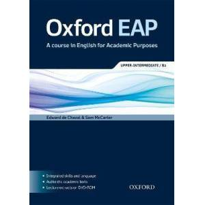 Oxford EAP: Upper-Intermediate/B2: Student's Book by Edward de Chazal