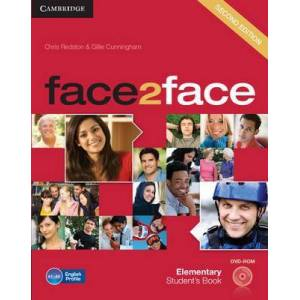face2face Elementary Student's Book with DVD-ROM by Chris Redston
