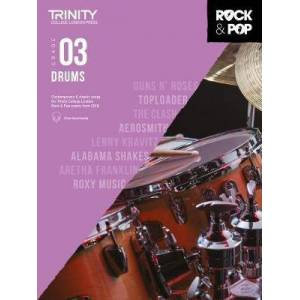 Trinity Rock and Pop Drums Grade 3
