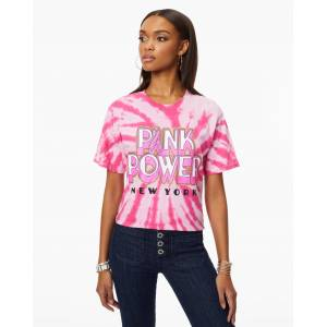 https:/cdn.shopify.com/s/files/products/05 RamyBrook Holiday20 Ecom2422.jpgv160666https:/cdn.shopify.com/s/files/products/BCA T-Shirt 0666.jpgv160676 Pink Power Tee in Pink - Size: Extra Large