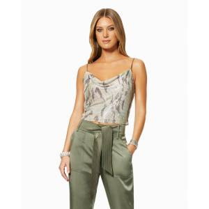 Lyla Top in Camo - Size: Extra Small