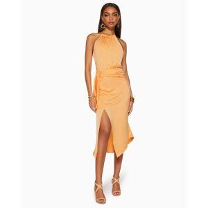 Amanda Wrap Midi Dress in Bellini - Size: 2