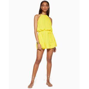 Bobbi Swing Mini Dress in Sunshine - Size: Small
