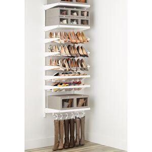 Elfa Decor Shoe Wall