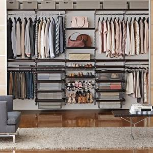Elfa Decor Reach-In Closet