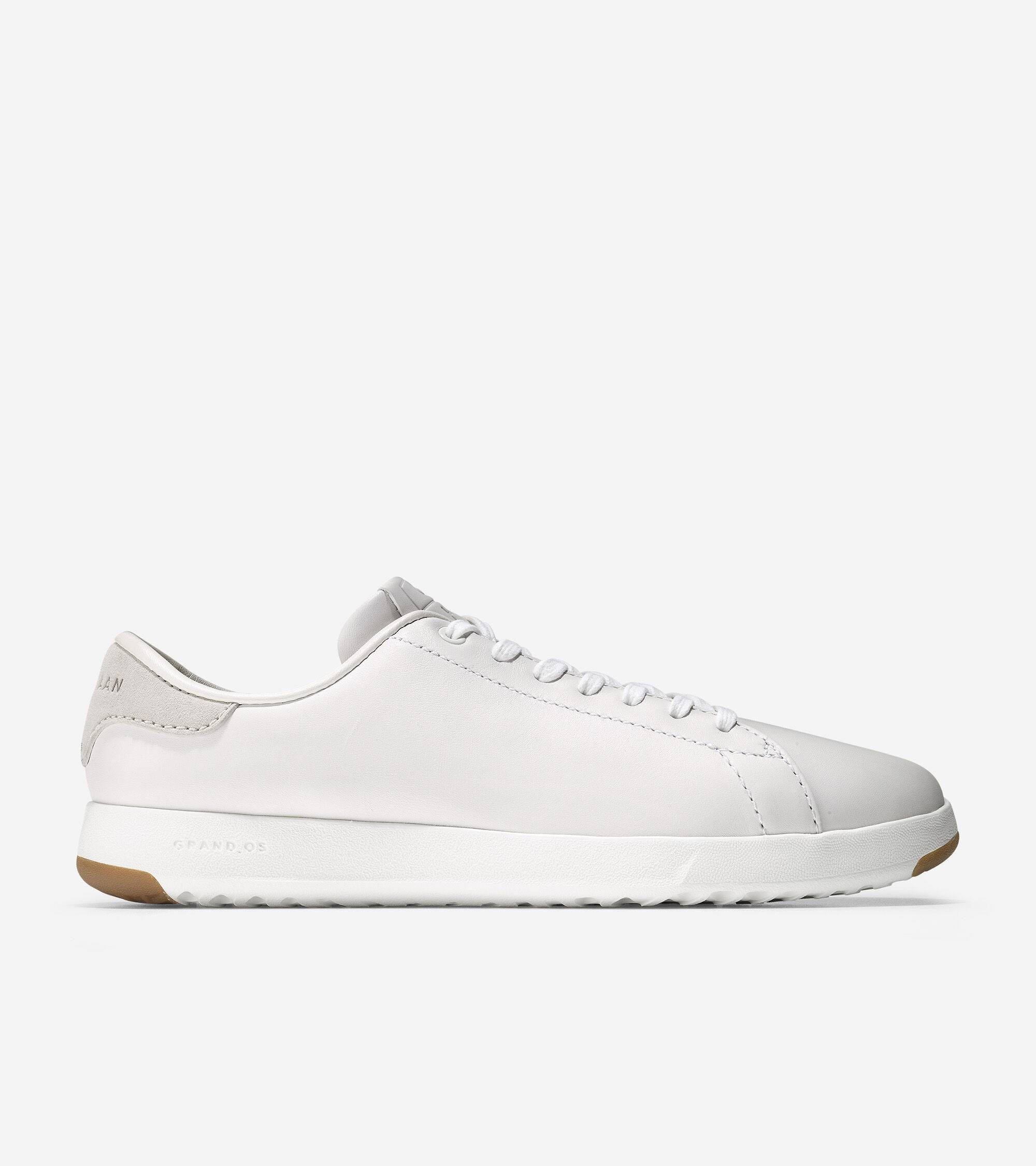 Cole Haan GrandPrø Tennis Sneaker size 7 Cole Haan Sneakers for Women. Optic White Leather GrandPrø Tennis Sneaker from Cole Haan - Optic White Leather - Size: 7