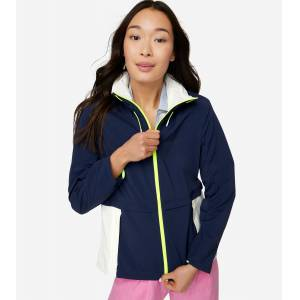 Cole Haan ZERØGRAND Training Jacket size L Cole Haan, ZEROGRAND Coats  Jackets for Women. Navy-White ZERØGRAND Training Jacket from Cole - Navy-White - Size: L