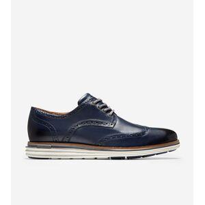 Cole Haan ØriginalGrand Lux Wingtip Oxford - BLUE - Size: 8.5