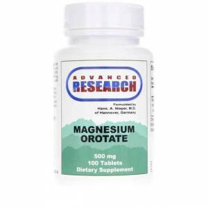 Advanced Research/Nutrient Carriers Magnesium Orotate 500 mg 100 Tabs Bone Health