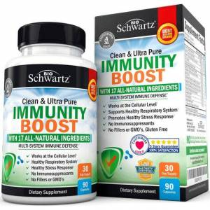 BioSchwartz Immunity Boost 90 Caps Immune Support