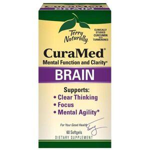 EuroPharma Terry Naturally Curamed Brain 60 Soft Gels Memory and Brain Health