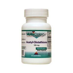 NutriCology Innovative Nutrition Nutricology Acetyl-Glutathione 100 mg 60 Tabs Amino Acids
